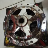 TROMOL BELAKANG VND CHROME MODEL DRAG NEW STAR XEON MIO VARIO 110/125