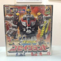 POWER RANGERS GROUND GOSEI GREAT MEGAFORCE BANDAI (MISB)