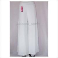 celana kulot putih/white cullots/bawahan/putih