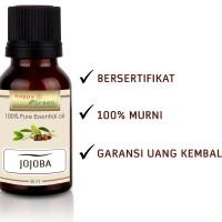 100% Pure Jojoba Oil Cosmetic Grade - Minyak Jojoba 80 ml HAPPY GREEN