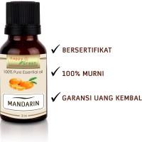 Happy Green Pure Mandarin Essential Oil 10ml - Minyak Jeruk Mandarin