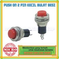 Switch Push On Mini Bulat / Saklar Push On Mini Bulat