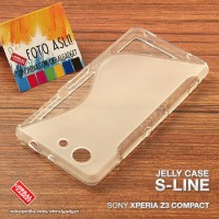 Soft Jelly Case Sony Xperia Z3 Compact Silicon Silikon Softcase Casing