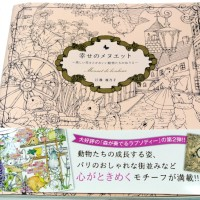 Minuet De Bonheur Adult Coloring Book