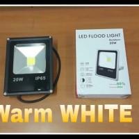 Lampu Sorot Led 20 Watt (Warm White) - Hemat Energi