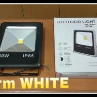 Lampu Sorot Led 50 Watt (Warm White) - Hemat Energi