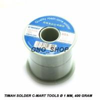Timah Solder C-Mart Tools 1 mm, 400 Gram CC0013-500 produk istimewa