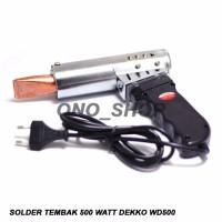 Solder Tembak 500 Watt Dekko WD500 terbaik