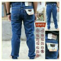 Celana Jeans Jumbo Size 39-44 Biru Tua