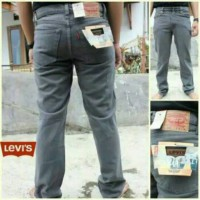 Celana Jeans Jumbo Size 39-44 Abu-Abu