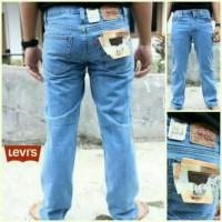 Celana Jeans Jumbo Size 39-44 Biru Muda