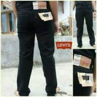 Celana Jeans Jumbo Size 39-44 Hitam