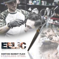 EELIC GUR-P6INCH Gunting Potong Rambut Stainless Steel