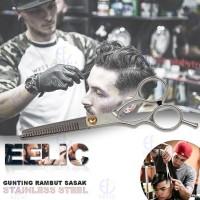 EELIC GUR-S6INCH Gunting Potong Rambut Sasak