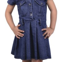 Dress Denim Anak, Baju Setelan Jeans, Blouse Anak