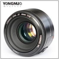 Lensa YONGNUO canon 50mm f1.8
