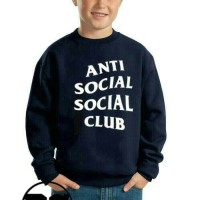 Sweater Anak ANTI SOCIAL CLUB -Favorit fashion