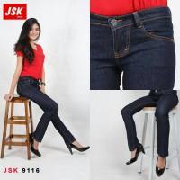 Celana Jeans Cutbray Wanita Denim Panjang Bootcut Basic JSK JEANS