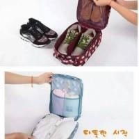 Lynx Shoes Pouch Organizer Bag Tas Sepatu Olahraga Travel Motif