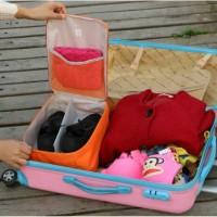 Lynx Tas Sepatu Koper Shoes Pouch Luggage Travel Organizer Bag