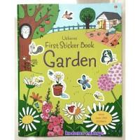 Usborne First Sticker Book - Garden, Buku Import Aktivitas Anak