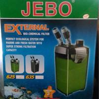 aquarium ikan hias jebo external filter 625