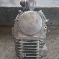 Block cylinder head kop Supra X 125 karbu blok seher boring head