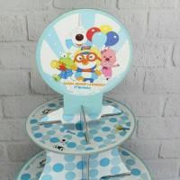 cupcake stand pororo / cupcakestand pororo / cupcake tier pororo