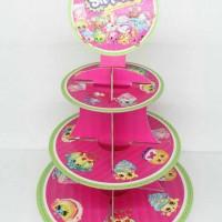 cupcake stand shopkins / rak cupcake shopkins 3 tier