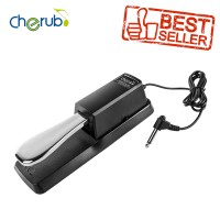 Sustain Pedal Keyboard, Piano Digital, dan Synthesizer Cherub WTB-005