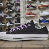 Sepatu Converse All Star Black Purple