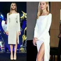 Dress Midi Scuba Premium