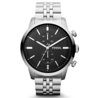 Jam Tangan Pria Fossil FS4784 Townsman Chronograph Stainless Steel