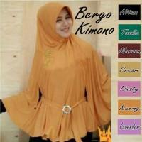 Jilbab/ Hijab Bergo Kimono