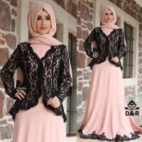 dress asmiranda 3in1 DR - baju muslim wanita spandek salem Berkuali