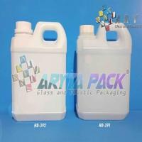 HD392. Jerigen plastik 1 liter HDPE taiwan putih susu