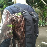 waterbag import  - camel bag - hydration backpack - tas air BLACK