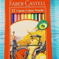Pensil Warna Faber Castell 12 Panjang Classic