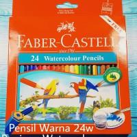 Pensil Warna Faber Castell 24 Watercolour