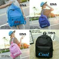 tas sekolah wanita murah backpack word grosir tas ransel