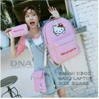 tas sekolah wanita murah backpack hello kitty 3inqgrosir tas ransel