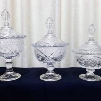 Capodimonte Toples Mahkota Set (3 Toples) - 1608