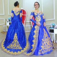 WEDDING GOWN BRIDAL GAUN KEBAYA PENGANTIN MODERN