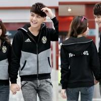 Cp Jkt Juventus CL couple jaket babyterry - Fashion Wanita Berkuali