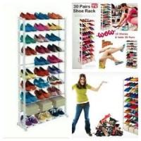 Rak Sepatu Amazing Shoe Rack muat 30 pasang as seen on tv Murah