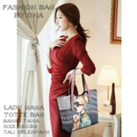 tas fashion wanita murah tote bag lady gaga grosir tas