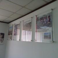 Poster /frame acrylic A3