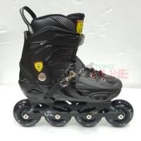 Sepatu Roda LYNX BM138 Recreational Inline Skate - Full Black