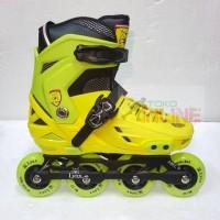 Sepatu Roda LYNX BM138 Recreational Inline Skate - Yellow Green