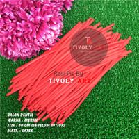 Balon Latex Pentil / Balon Pentil Merah / Balon Twist / Balon Cacing